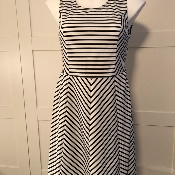 Pixley Dresses & Skirts - Pixley Striped Fit and Flare Dress